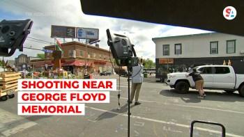 shots fired at Floyd memorial