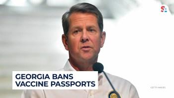 Georgia governor bans vaccine passports