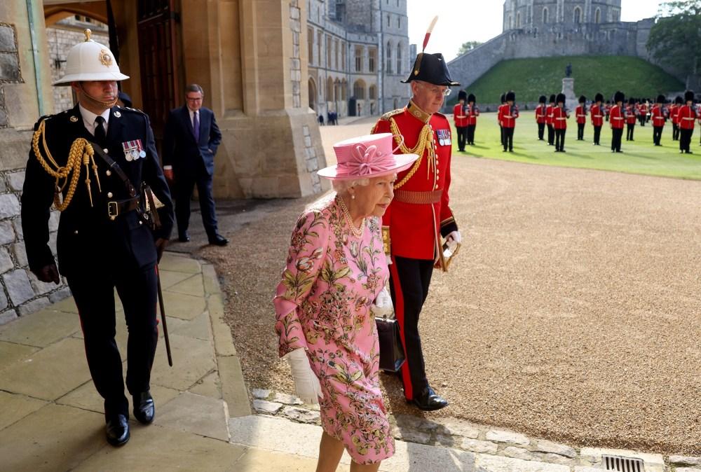 biden queen Elizabeth tea