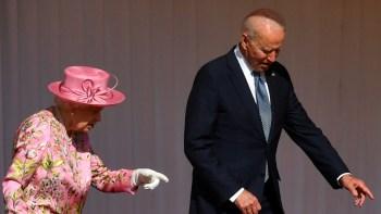 Biden queen Elizabeth mother