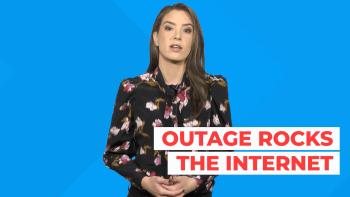 Social media websites outage