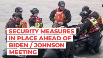 Security measures Biden Johnson