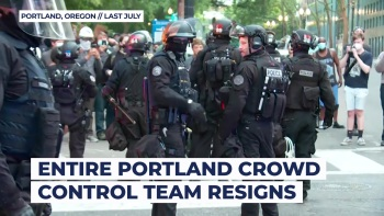 Portland crowd-control unit officers