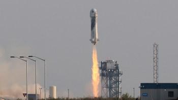 Blue Origin flight success