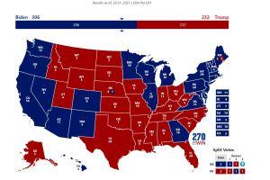 2020 Electoral College Map