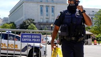 bomb threat Congress