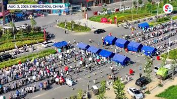 Mass testing China outbreak