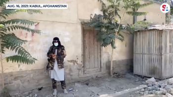 Afghans escape