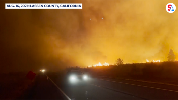 California's largest fire