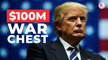 Donald Trump war chest