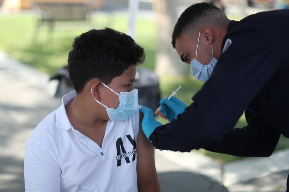 Vaccine Clinic in L.A.