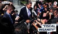 "Senator Joe Manchin (D-WV) likened Democrats' $3.5 trillion spending proposal to ""fiscal insanity."""