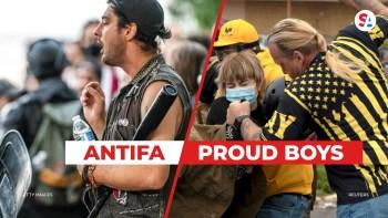 antifa proud boys