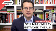 Ben Weinberg argues General Mark Milley betrayed the United States in his conversations with Chinese counterparts.