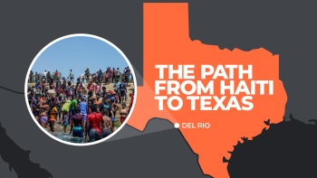 Haitian migrants travel thousands of miles over several years to reach the US border.