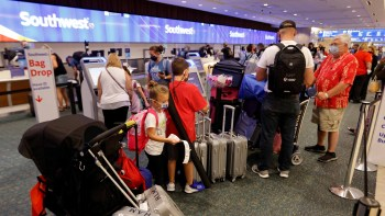 Southwest Airlines passengers endured a third straight day of major cancellations.