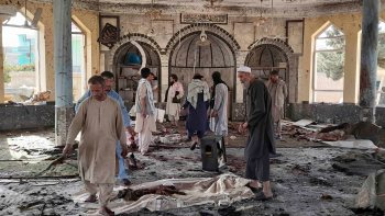 At least 100 people were killed by a blast in Afghanistan.