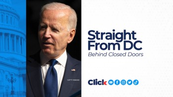 President Joe Biden took a trip down Pennsylvania Avenue to the Capitol to lobby on behalf of the spending and infrastructure bills.