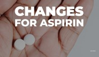 """""""People age 60 or older should not start taking aspirin for heart disease and stroke prevention,"""" the U.S. Preventative Services Task Force said in its statement."""