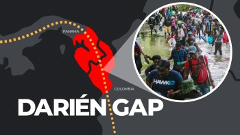 More than 90,000 migrants--many of them Haitians--crossed the deadly Darién Gap between Panama and Columbia in 2021, according to Panamanian authorities.
