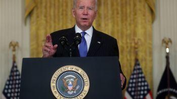 Biden addressed supply chain bottlenecks.