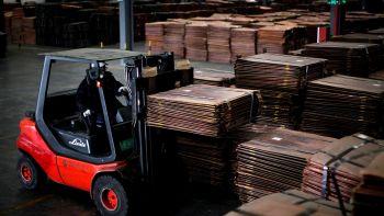 China's economy slows.
