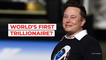 Analyst says Elon Musk is on his way to becoming the world's first trillionaire.