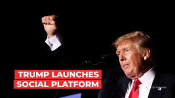 Trump announced the launch of his own media company.